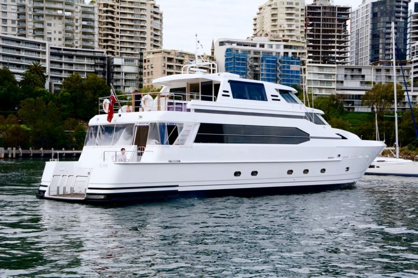Enjoy luxurious cruising experiences aboard the beautiful superyacht for hire AQA!