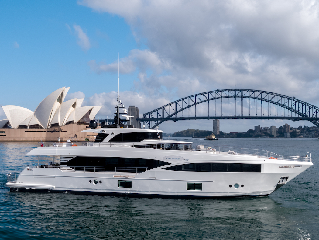 Super Yacht Charters on One World - Sydney Sea & Sunshine